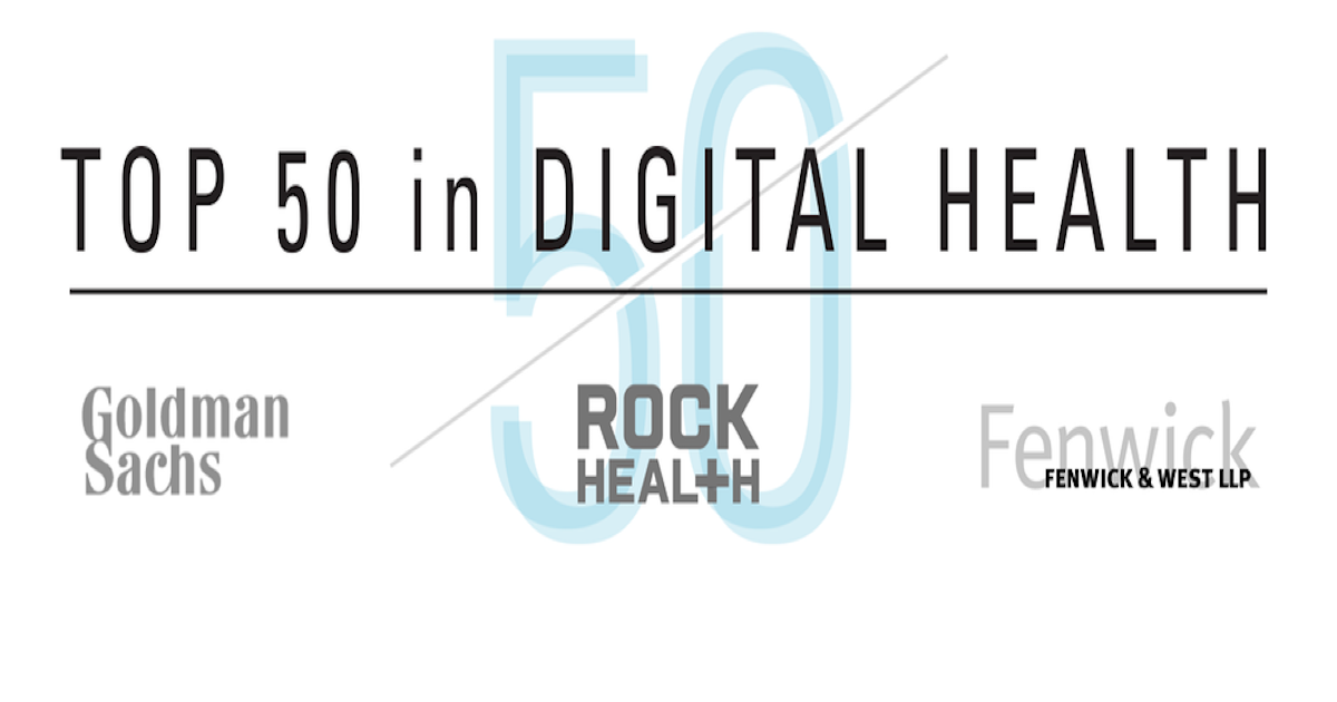 """Amino named """"Best New Startup"""" - Top 50 in Digital Health"""